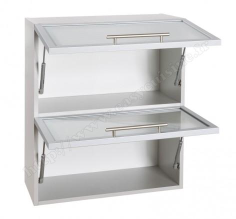 Meuble haut cuisine vitr meuble de cuisine haut ikea for Meuble cuisine horizontal