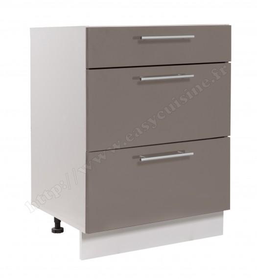 meuble bas cuisine casserolier 60 cm pas cher easy cuisine. Black Bedroom Furniture Sets. Home Design Ideas