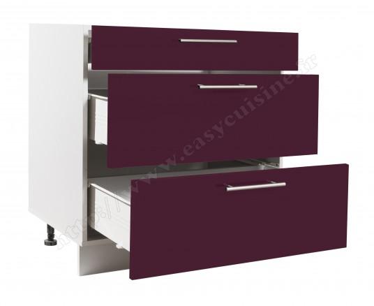 meuble bas cuisine casserolier 80 cm pas cher achat easy cuisine. Black Bedroom Furniture Sets. Home Design Ideas