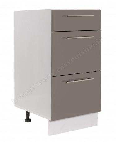 meuble bas cuisine casserolier 40 cm pas cher achat easy cuisine. Black Bedroom Furniture Sets. Home Design Ideas