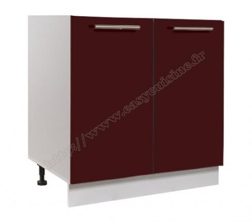 meuble bas cuisine 80cm sous vier achat pas cher easy cuisine. Black Bedroom Furniture Sets. Home Design Ideas